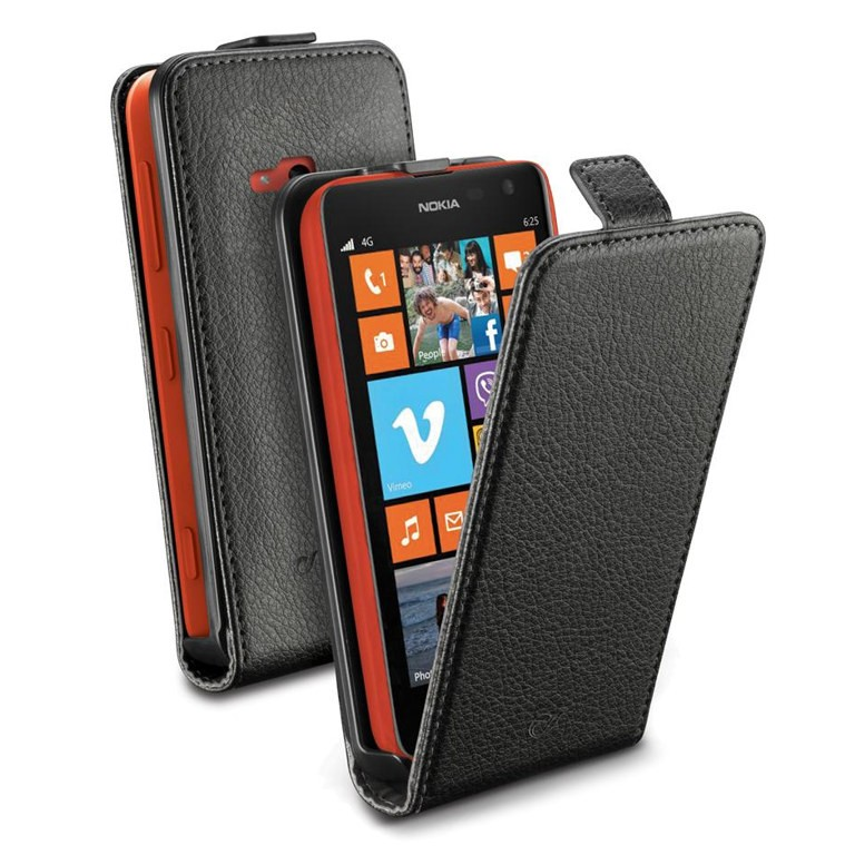 Etui Cellular Line FLAP ESSENTIAL do Nokia Lumia 625 FLAPESSENL625BK