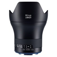 Obiektyw Zeiss Milvus 21mm f/2,8 ZE Canon