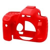 Osłona silikonowa easyCover do aparatów Canon 5D Mark III/ 5Ds/ 5DsR czerwona