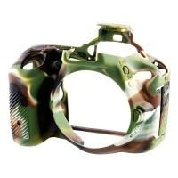 Osłona silikonowa easyCover do aparatów Nikon D5500/ D5600 kamuflaż