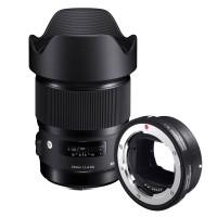 Obiektyw Sigma 20mm f/1,4 DG HSM Art Canon + konwerter MC-11