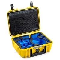 Walizka transportowa B&W outdoor.cases Typ 1000 żółta do Osmo/ Osmo+