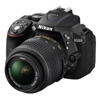Nikon D5300 Czarny + obiektyw Nikkor AF-S 18-55mm VR - miniaturka produktu