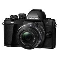 Olympus OM-D E-M10 Mark II czarny + obiektyw 14-42 mm II R