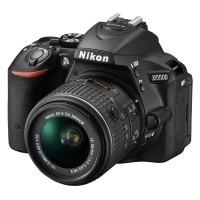 Nikon D5500 Czarny + obiektyw Nikkor AF-S 18-55mm VR II