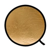 Blenda okrągła Lastolite srebrno-złota 30 cm LL LR1234