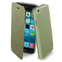 Etui Cellular Line Book Color do iPhone 6 zielone