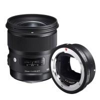 Obiektyw Sigma 24mm f/1,4 DG HSM Art Canon + konwerter MC-11
