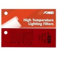 Filtr czerwony Fomei HT026 Bright Red 61x53