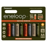 Akumulatorki Panasonic ENELOOP EXPEDITION R6/AA 1900mAh - 8szt