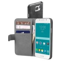 Etui Cellular Line BOOK AGENDA do Samsung Galaxy S6 czarne