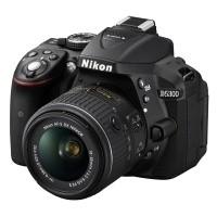Nikon D5300 Czarny + obiektyw Nikkor AF-S 18-55mm VR II - NIKON CASHBACK 210 PLN