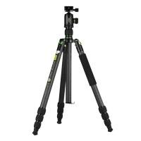 Statyw fotograficzny Genesis Base C5 Kit Zielony + dodatkowa płytka PLL-100 gratis
