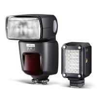 Lampa błyskowa Metz Mecablitz 52 AF-1 (Canon) + Metz LED-160