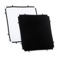 Ekran Black/ White do systemu Lastolite Skylite 1.1 x 1.1 m LR81121R