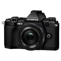 Olympus OM-D E-M5 II czarny + obiektyw 14-42mm EZ