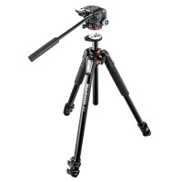 Statyw video Manfrotto MT055XPRO3 z głowicą MHXPRO-2W