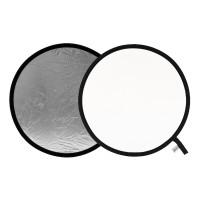 Blenda okrągła Lastolite srebrno-biała 75 cm LL LR3031
