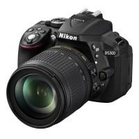 Nikon D5300 Czarny + obiektyw Nikkor AF-S 18-105mm VR - Cashback Nikon 250zł - miniaturka produktu