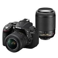 Nikon D5300 Czarny + obiektyw 18-55mm VR II + obiektyw 55-200mm VR - Cashback Nikon 250zł - miniaturka produktu