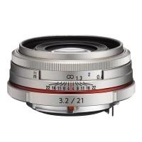 Obiektyw Pentax HD DA 21mm f/3,2 Limited Srebrny
