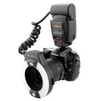 Pierścieniowa lampa błyskowa Meike MK-14EXT Nikon