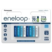 Akumulatorki Panasonic ENELOOP OCEAN R03/AAA 750mAh - 8szt