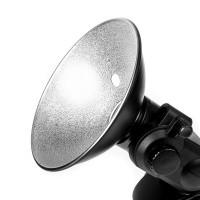 Reflektor z uchwytem do parasolki do lamp Quadralite Reporter