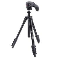 Statyw fotograficzny Manfrotto Compact Action z głowicą hybrydową czarny