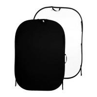 Tło składane Czarne/ Białe 1,8 x 2,75m Lastolite LL LB6921