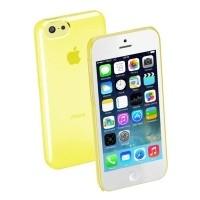 Pokrowiec Cellular Line Hard Case Boost iPhone 5c Żółty - WYSYŁKA W 24H