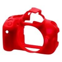 Osłona silikonowa easyCover do aparatów Canon 650D/ 700D czerwona