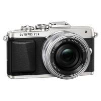 Olympus E-PL7 srebrny + obiektyw 14-42mm f/3.5-5.6 EZ