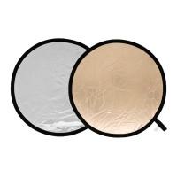Blenda okrągła Lastolite słoneczna-srebrna miękka 50 cm LL LR2028