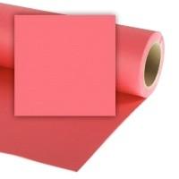 Colorama CO546 Coral Pink - tło fotograficzne 1,35m x 11m