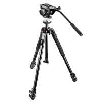 Statyw video Manfrotto MT190X3 z głowicą MVH500AH