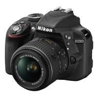 Nikon D3300 + obiektyw Nikkor AF-S 18-55mm VR II - miniaturka produktu