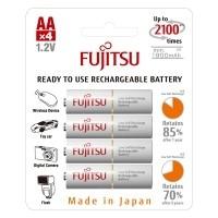Akumulatorki Fujitsu WHITE R6/AA 1900mAh 4szt - WYSYŁKA W 24H