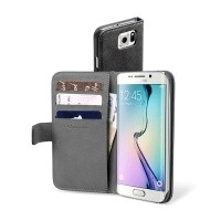Etui Cellular Line BOOK AGENDA do Samsung Galaxy S6 Edge czarne