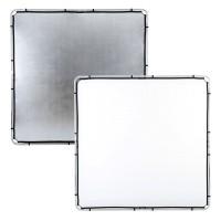 Ekran Silver/ White do systemu Lastolite Skylite 2 x 2 m LR82231R