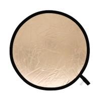Blenda okrągła Lastolite słoneczna-srebrna miękka 30 cm LL LR1228