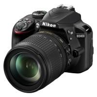 Nikon D3400 + obiektyw Nikkor AF-S 18-105mm VR