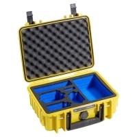 Walizka transportowa B&W outdoor.cases Typ 1000 żółta do kamer GoPro