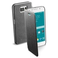 Etui Cellular Line Book Essential Czarne do Samsung Galaxy S6