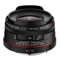 Obiektyw Pentax HD DA 15mm f/4 Limited Czarny
