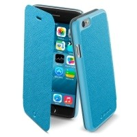 Etui Cellular Line Book Color do iPhone 6 niebieskie