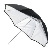 Parasol srebrno/biały 90cm - Bowens BW4036