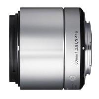 Obiektyw Sigma 60mm f/2.8 A DN Sony-E (SE) srebrny