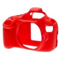Osłona silikonowa easyCover do aparatu Canon 1200D czerwona