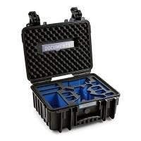 Walizka transportowa B&W outdoor.cases Typ 3000 czarna do DJI Spark